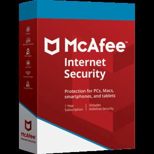 McAfee Internet Security 10pc / 1 jaar