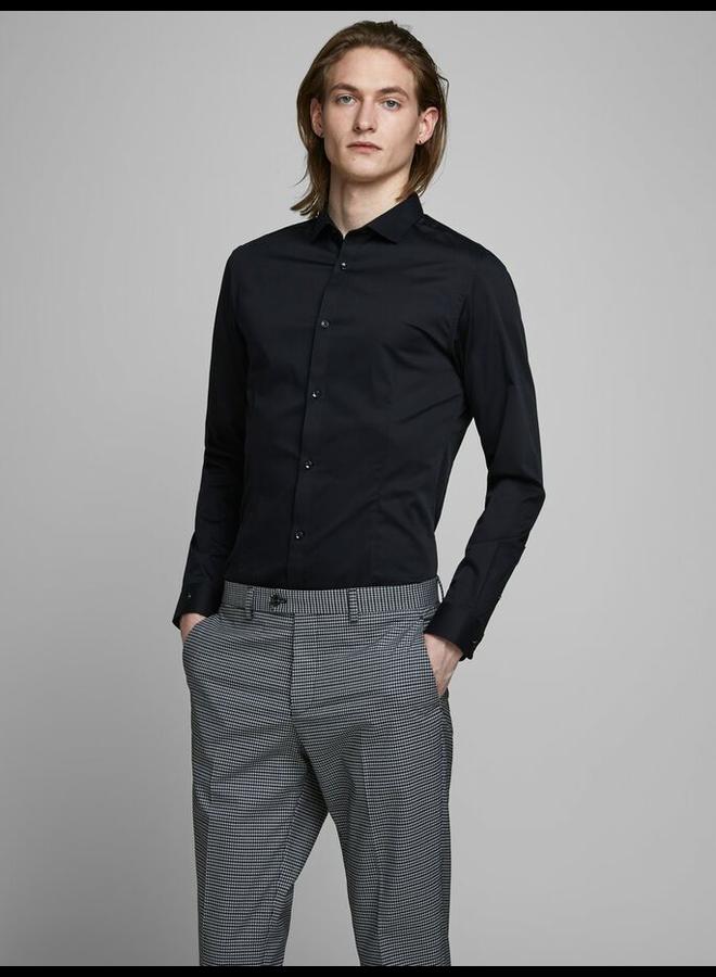 Non Iron Overhemd 12125792 - Zwart