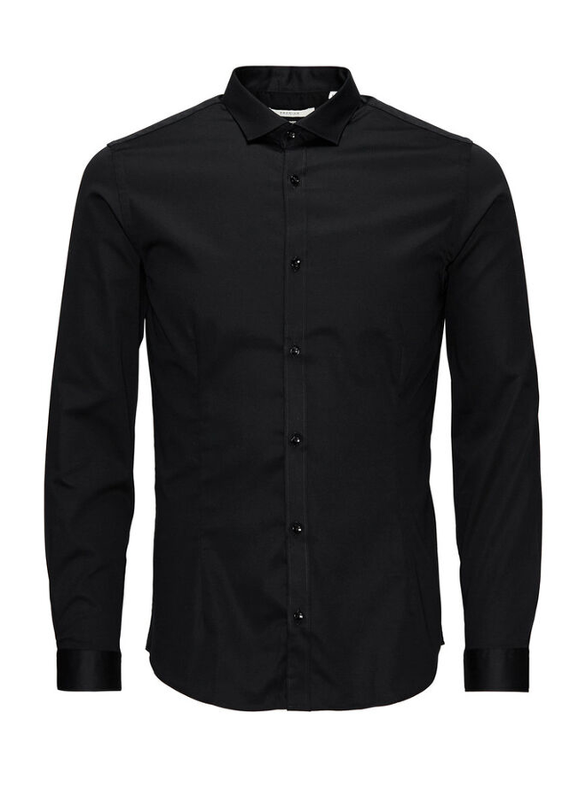 Jack & Jones Non Iron Overhemd 12125792 - Zwart
