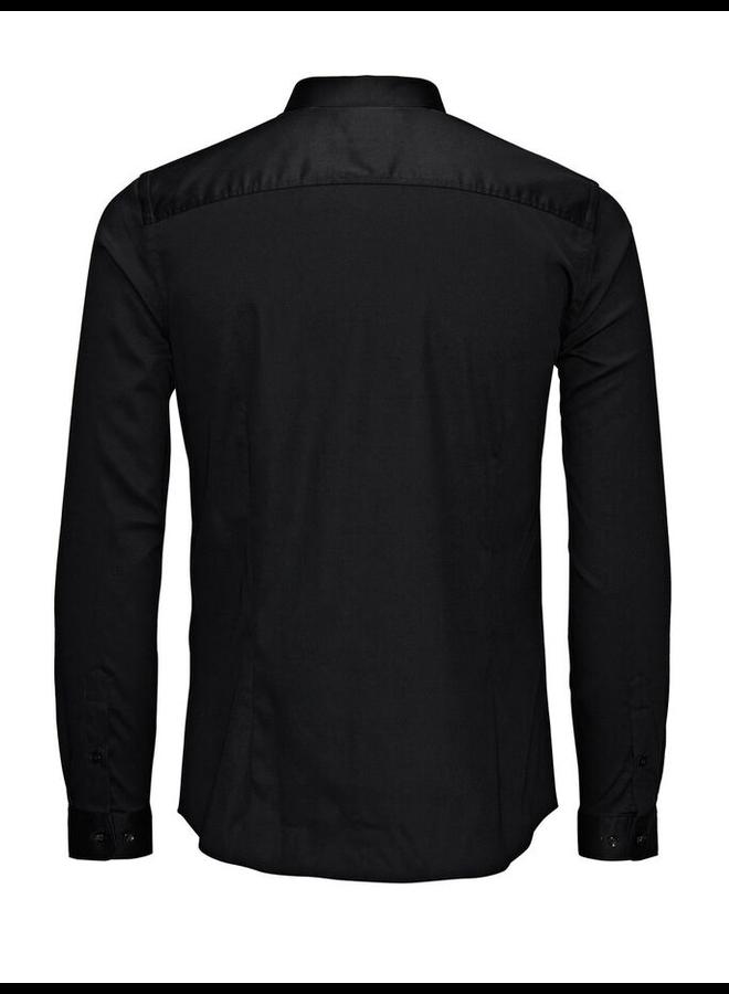 Jack & Jones Non Iron Overhemd 12125792 - Zwart