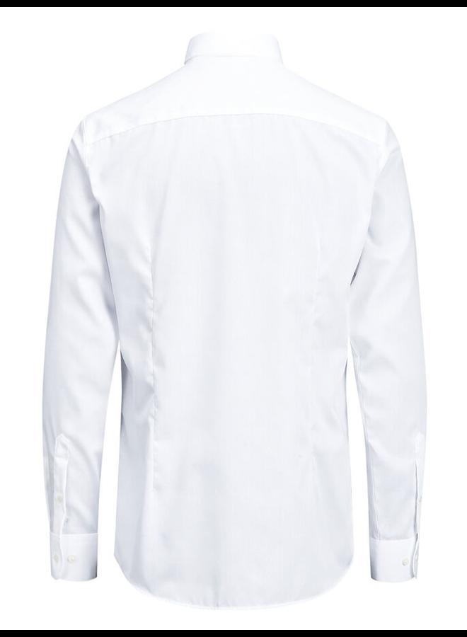 Jack & Jones Non Iron Overhemd  12125792 - White