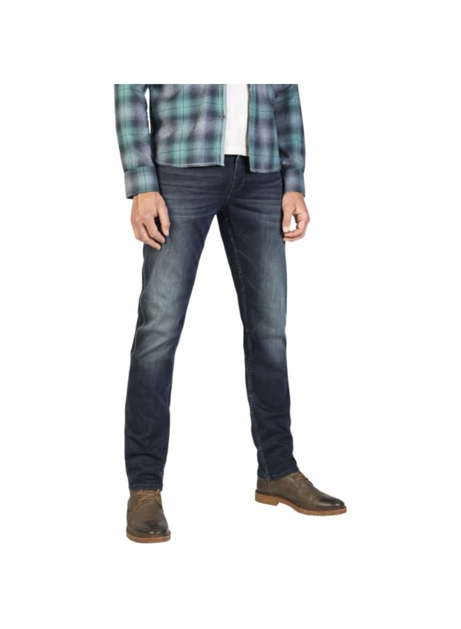 Slim Fit Nightflight Jeans PTR120-LMB Donker Blauw