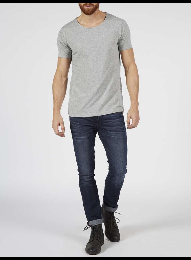 Petrol 2-pack basic T-Shirt ronde hals - 9038 Light Grey Melee