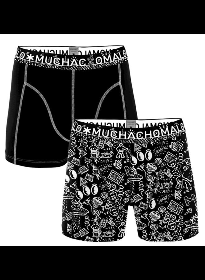 Muchachomalo Boxershort Icnsa1010-01 - 2-Pack