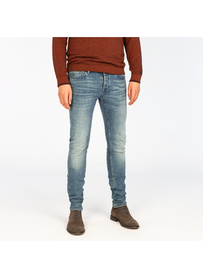 Slim Fit Jeans CTR390-BSH - Riser Slim Blue Shadow Wash