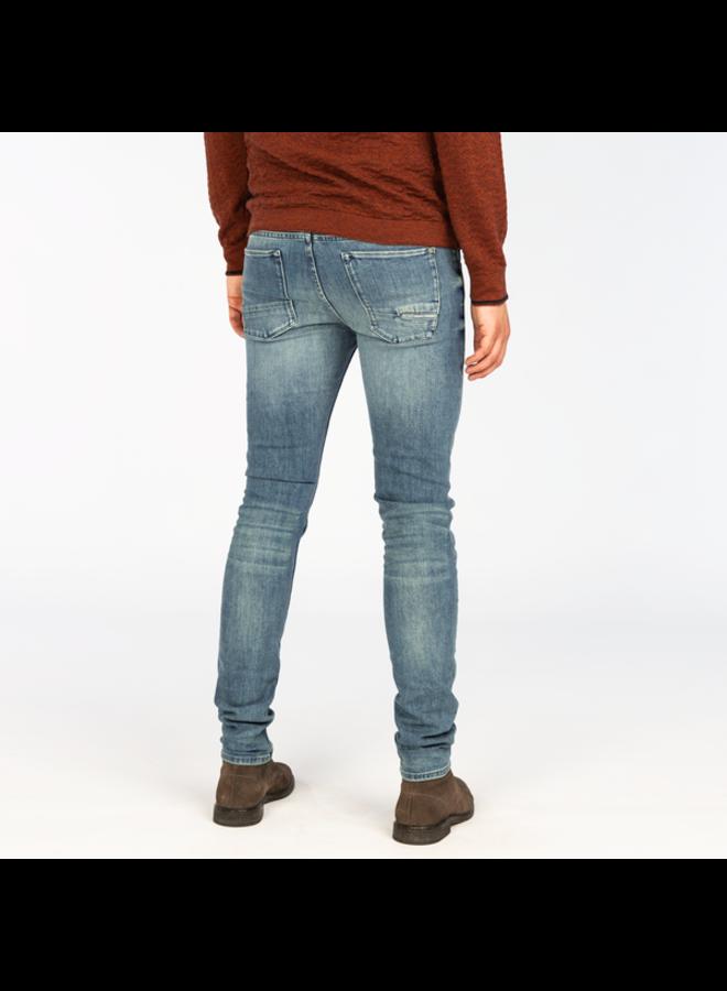 CAST IRON Slim Fit Jeans CTR390-BSH - Riser Slim Blue Shadow Wash