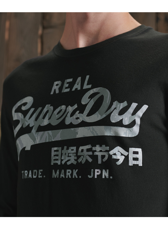 Superdry Long Sleeve M6010178A - 02A Black