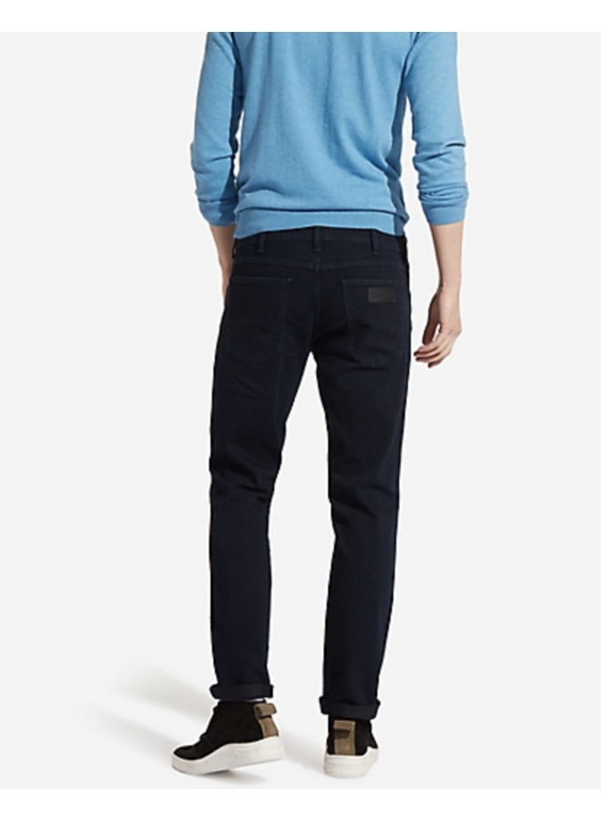 Wrangler Straight Fit Jeans W15QQC77D Greensboro - Black Back