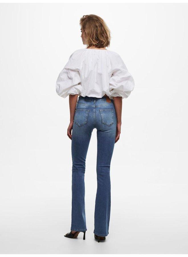 Only Flair Jeans Blush 15223514 - Medium Blue Denim