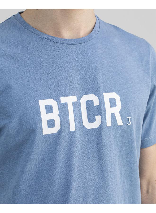 Butcher of Blue T-Shirt 2112005 Fresco BTCR Tee - Meissen Blue