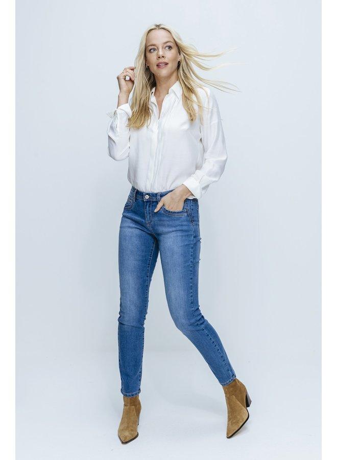 Slim Fit Jeans SRB3808 - JIMMY L.BLUE USED
