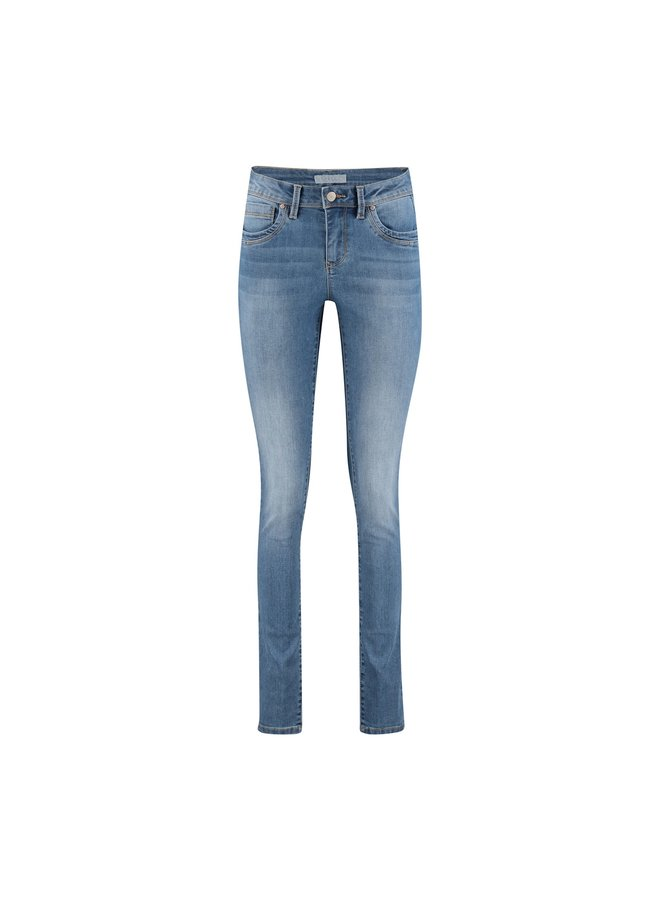 Red Button Slim Fit Jeans SRB3808 - JIMMY L.BLUE USED