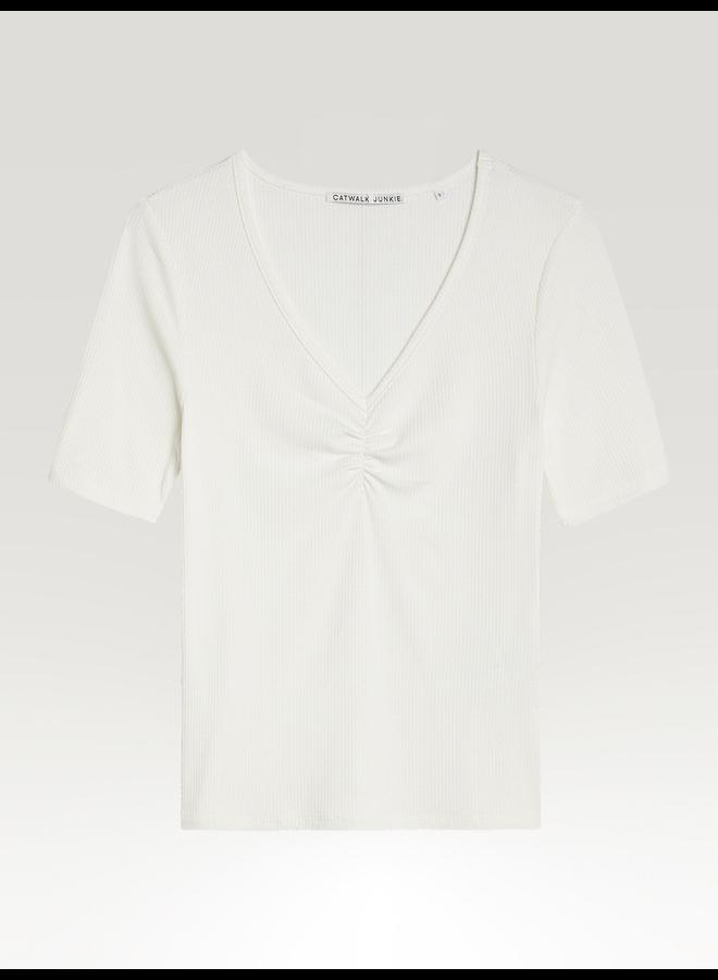 Catwalk Junkie T-shirt LUNA - 201 off-white