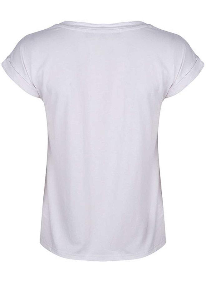 Lofty Manner T-Shirt MN68 Tee Lysa - White