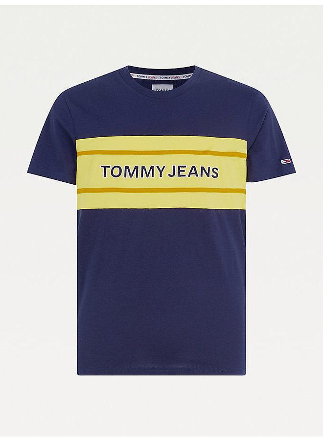 Tommy Jeans T-shirt DM0DM09950 Tee - C87 Twilight Navy