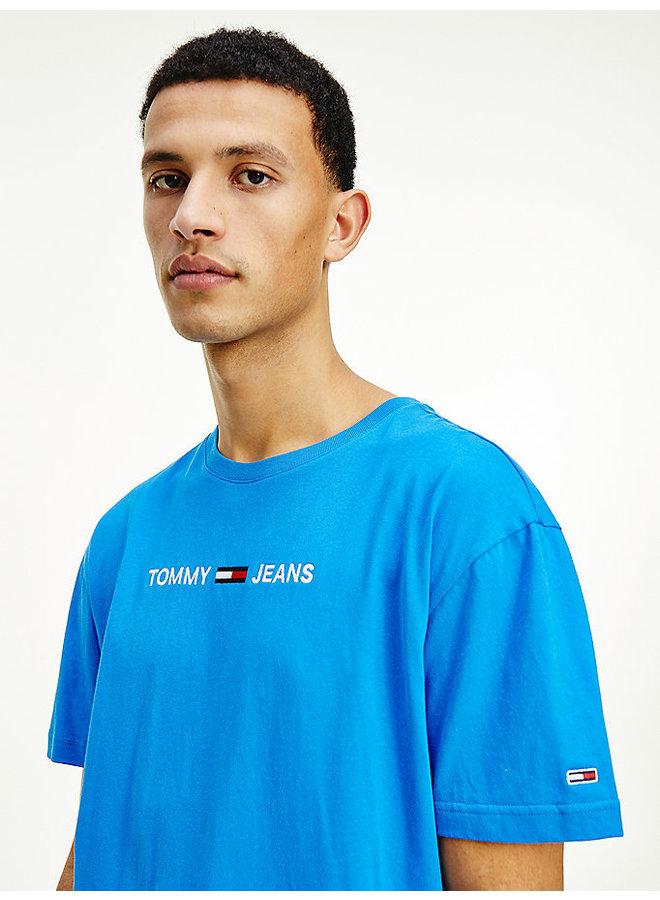 Tommy jeans T-shirt DM0DM09701 Tee - C2W Liberty Blue