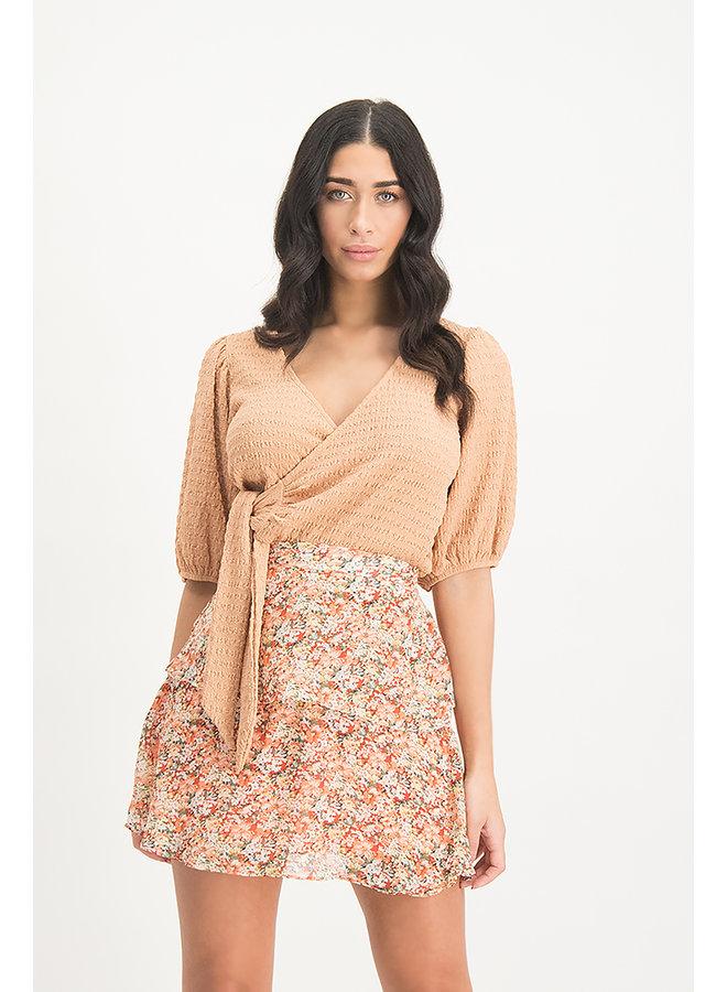 Rok MI99.1 Skirt Alita - White Peach