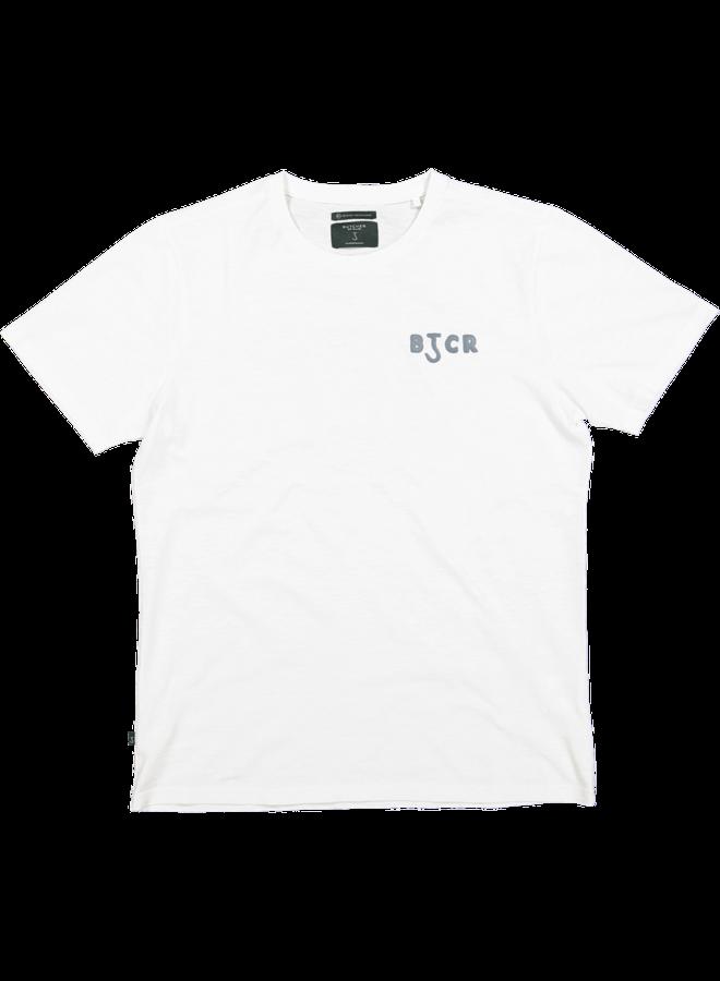 Butcher of Blue T-shirt M2112010  Fresco Pig - Titan White