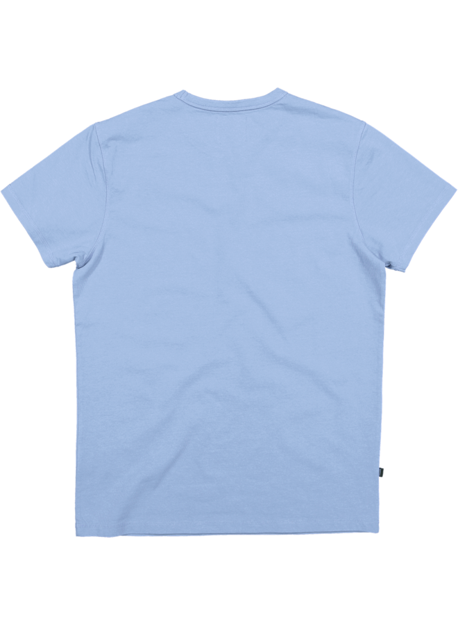 Butcher of Blue T-shirt 2012001 Army Tee S/S - Meissen Blue
