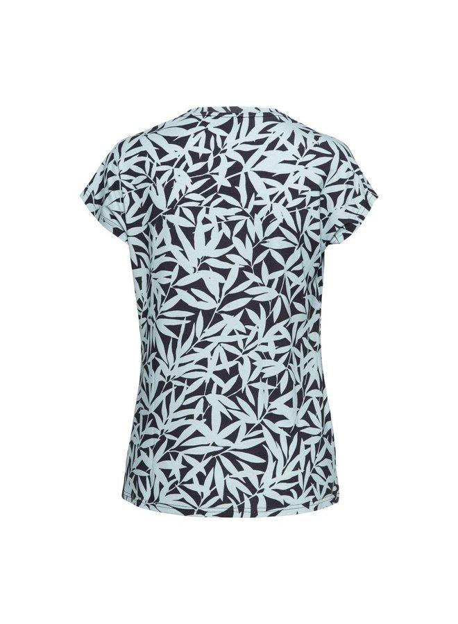 &Co Woman T-shirt 14SS-TO140-OB Vivian Top - Ocean (Multi)