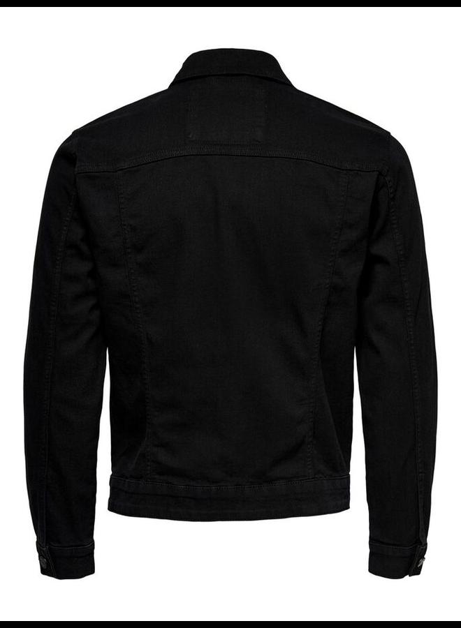 Only & Sons Spijkerjas 22019553 - Black