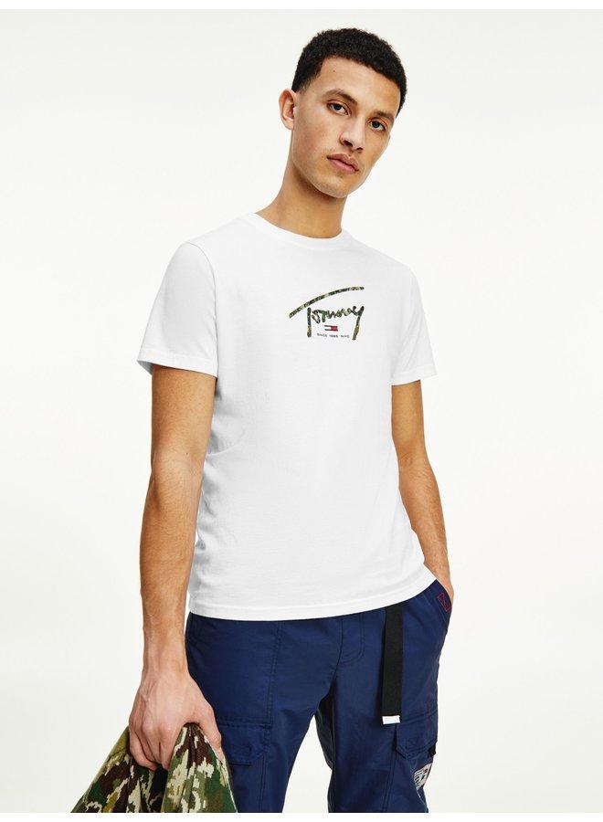 Tommy Jeans T-shirt DM0DM10945 - YBR White