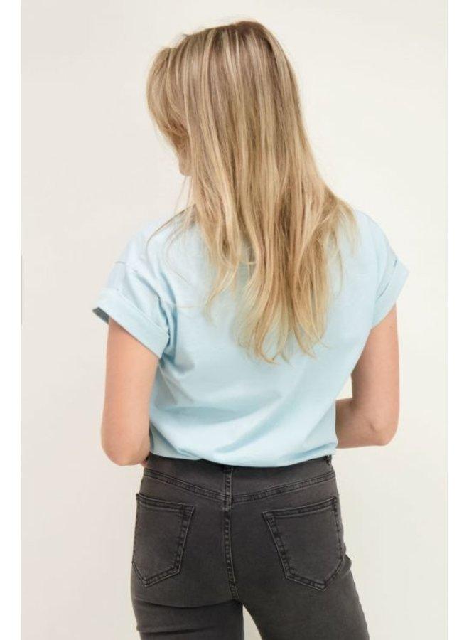 My Jewellery T-Shirt C'est La Vie - Blauw