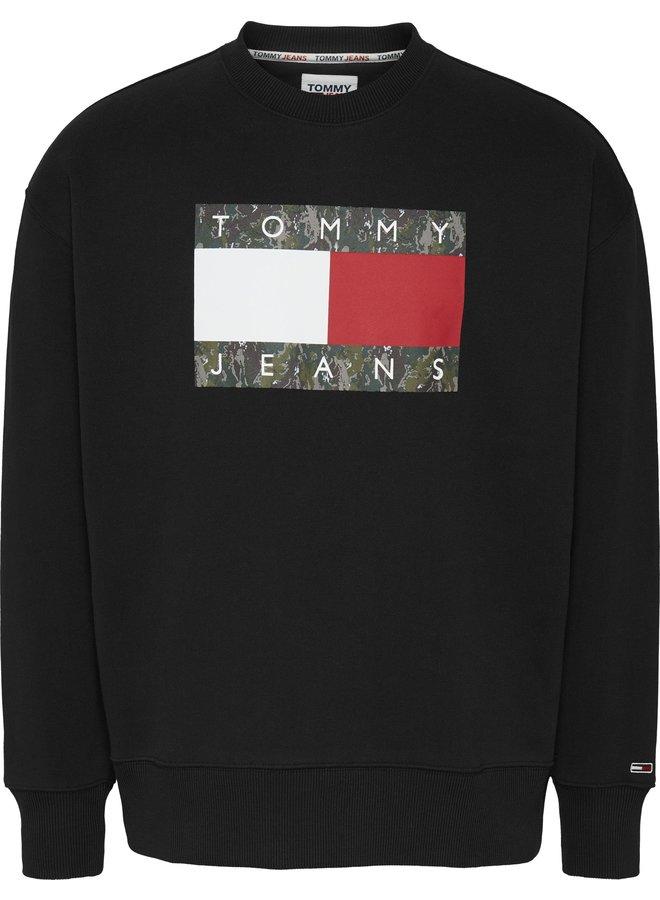 Tommy Jeans Trui DM0DM11008 - BDS Black