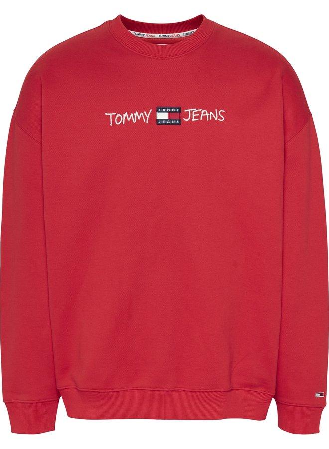 Tommy Jeans Trui DM0DM10914 - XNL Deep Crimson