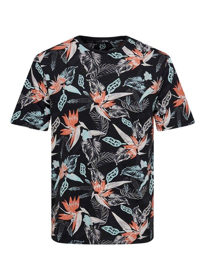 T-shirt 22020078 - Zwart