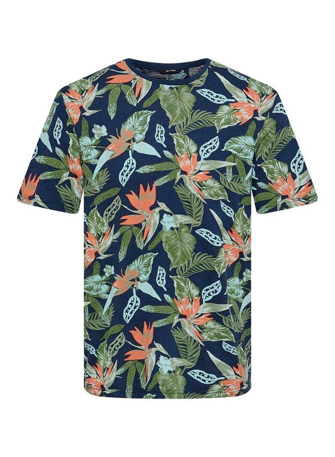 T-shirt 22020078 - Blauw