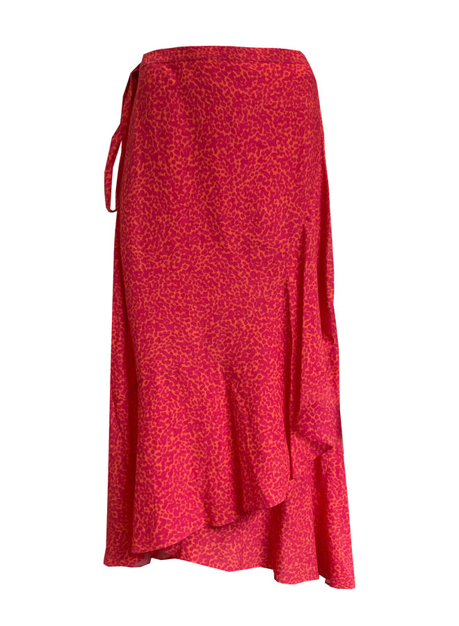 Rok E3 21-034 Skirt Yara - 827 Dot Fuchsia