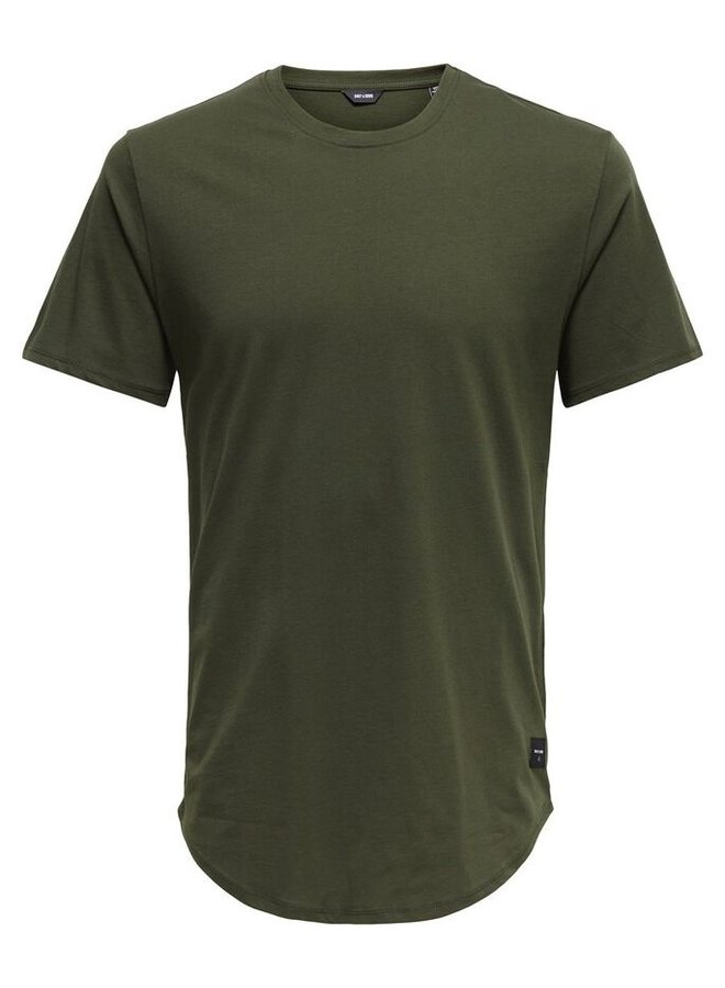 Only & Sons T-shirt 22002973 - Forest Night
