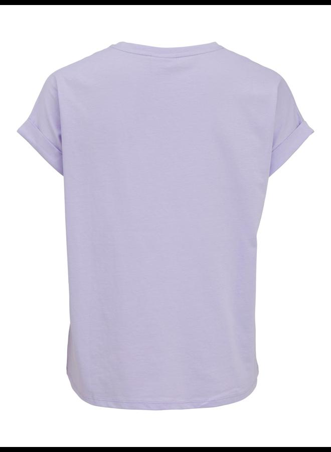 Vila T-shirt VITILLI 14073936 - Rose Smoke