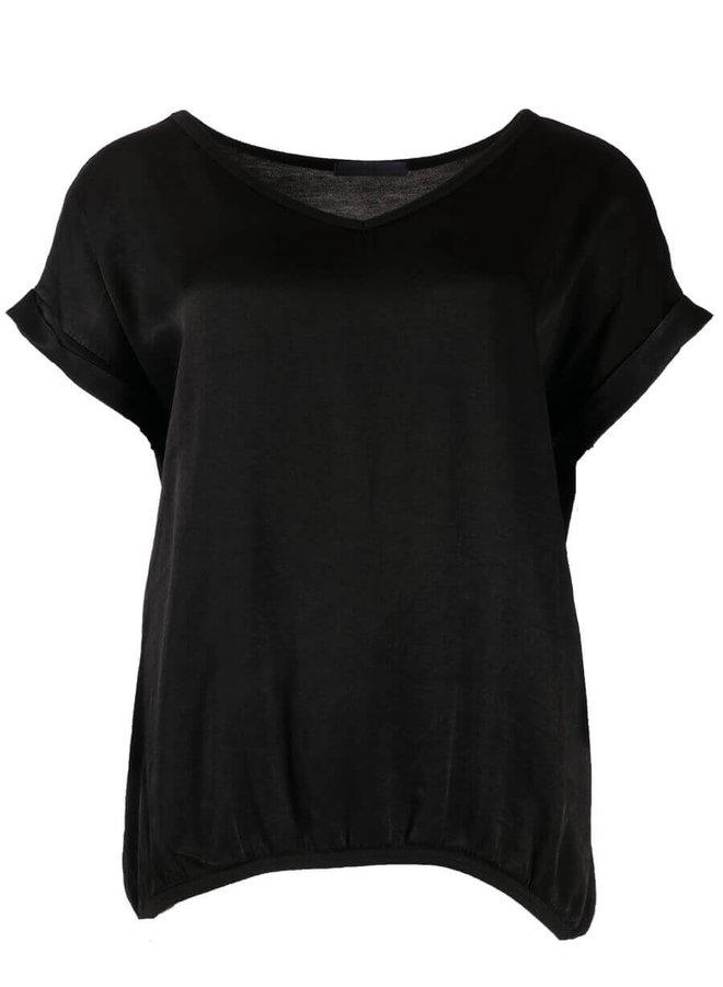 Silk Top - Zwart