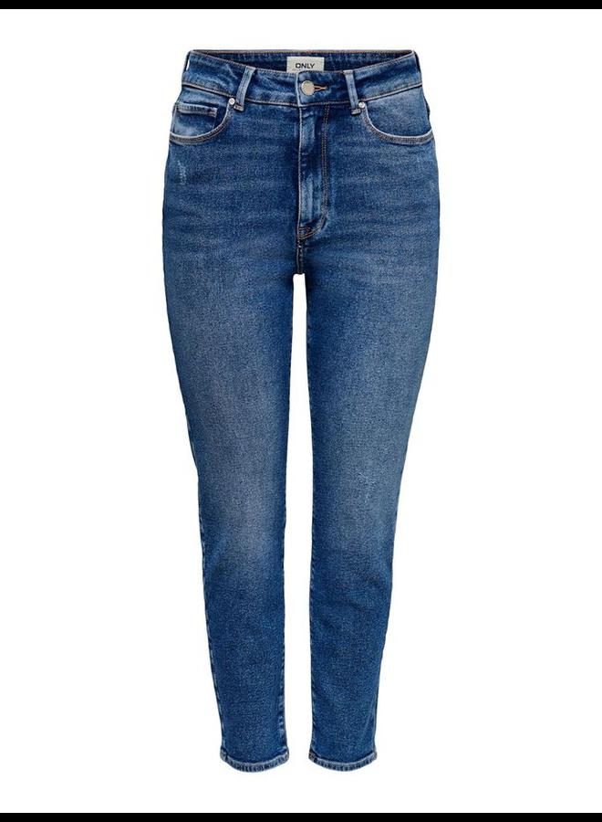 Straight Fit Jeans ONLEMILY 15235791 - Medium Blue