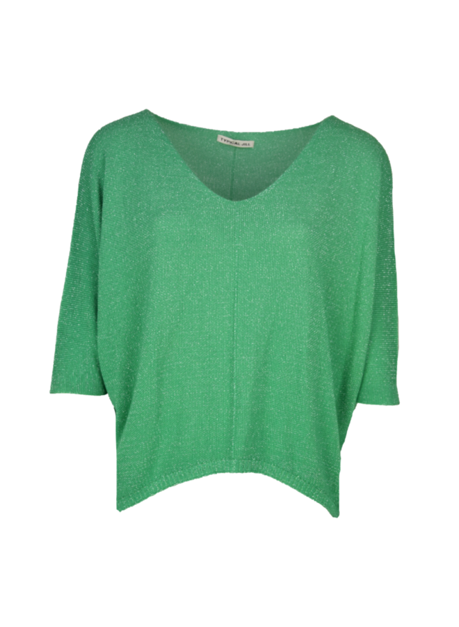 Typical Jill Sofie Glitter Shirt - Gucci Green