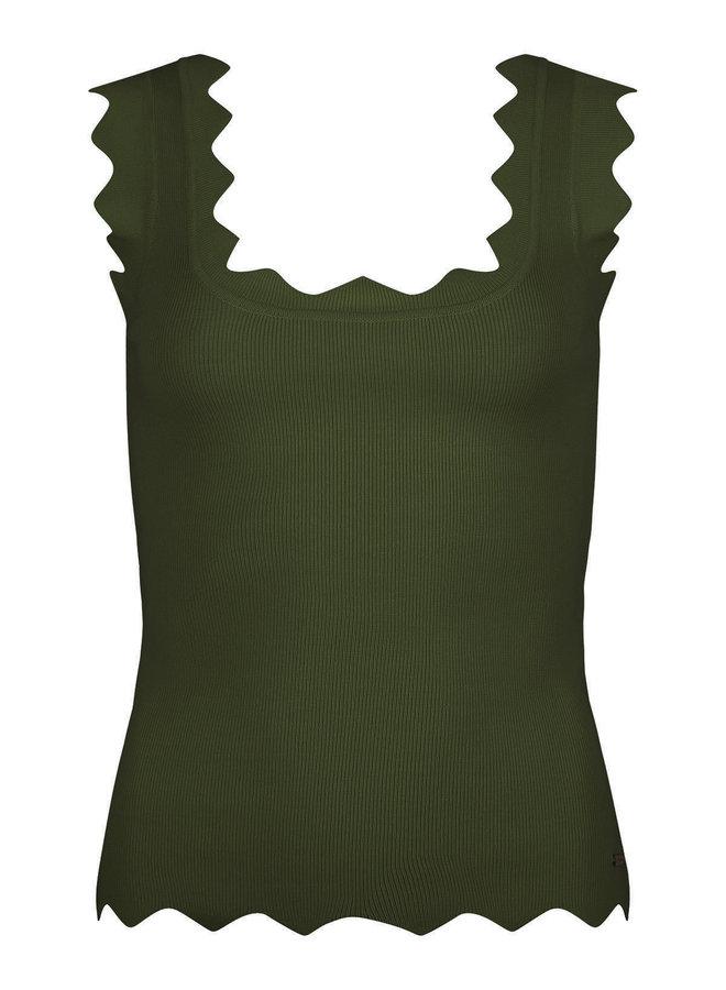Ambika Top Fabienne - Groen