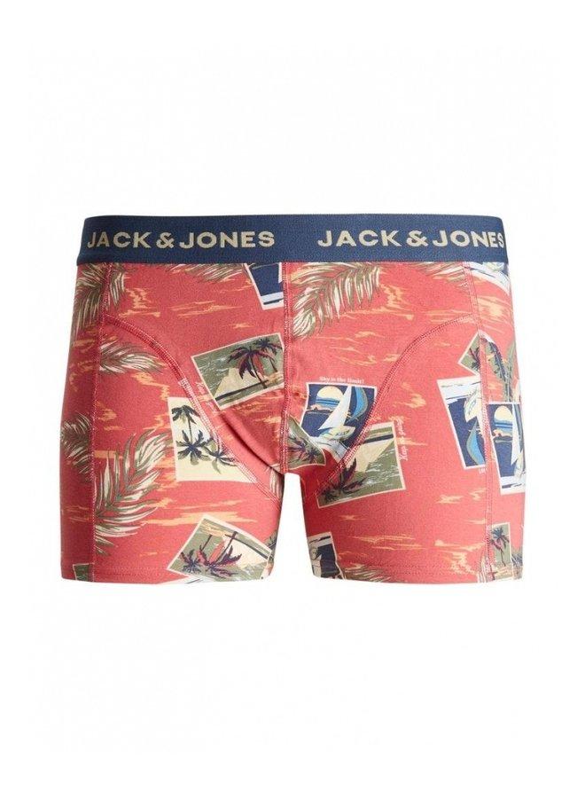 Jack & Jones Boxershort JACTROPIC TRUNKS 12189253 - Slate Rose