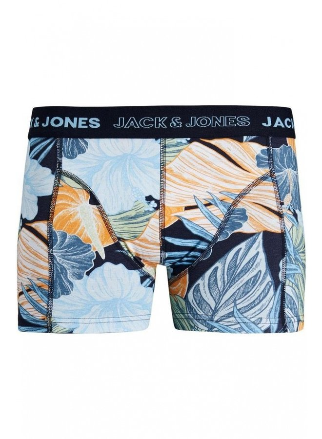 Jack & Jones Boxershort JACSUMMER LEAF TRUNKS 12189437 - Navy Blazer