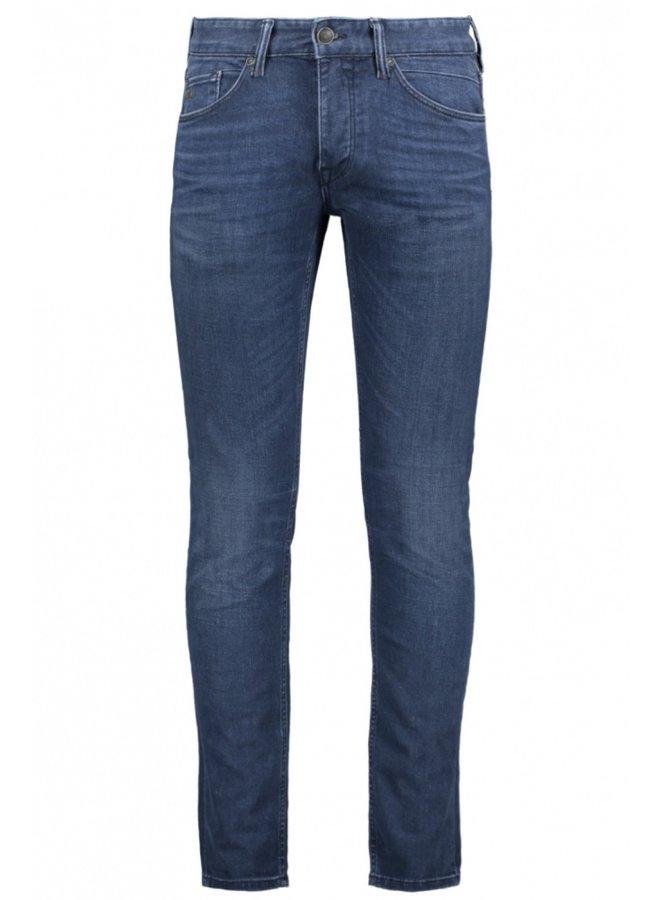 Slim Fit Jeans CTR390-MBU - Mid Blue Used