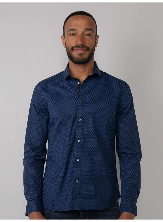 Overhemd  M-3010-SIL413 - 5147