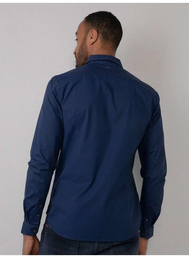 Petrol Overhemd Overhemd M-3010-SIL413 - 5147