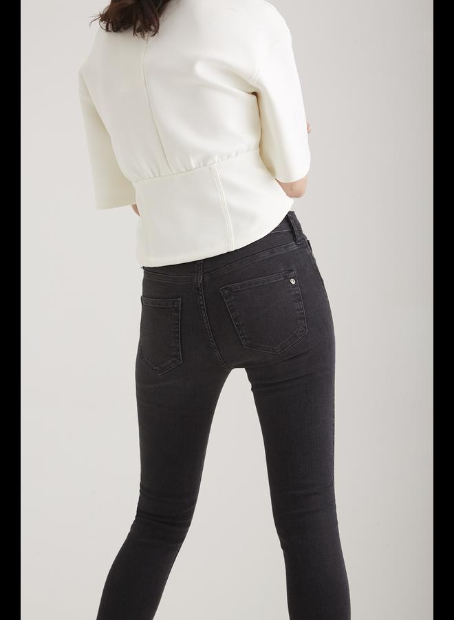 Cup of Joe Skinny Fit Jeans Sophia - Black Vintage