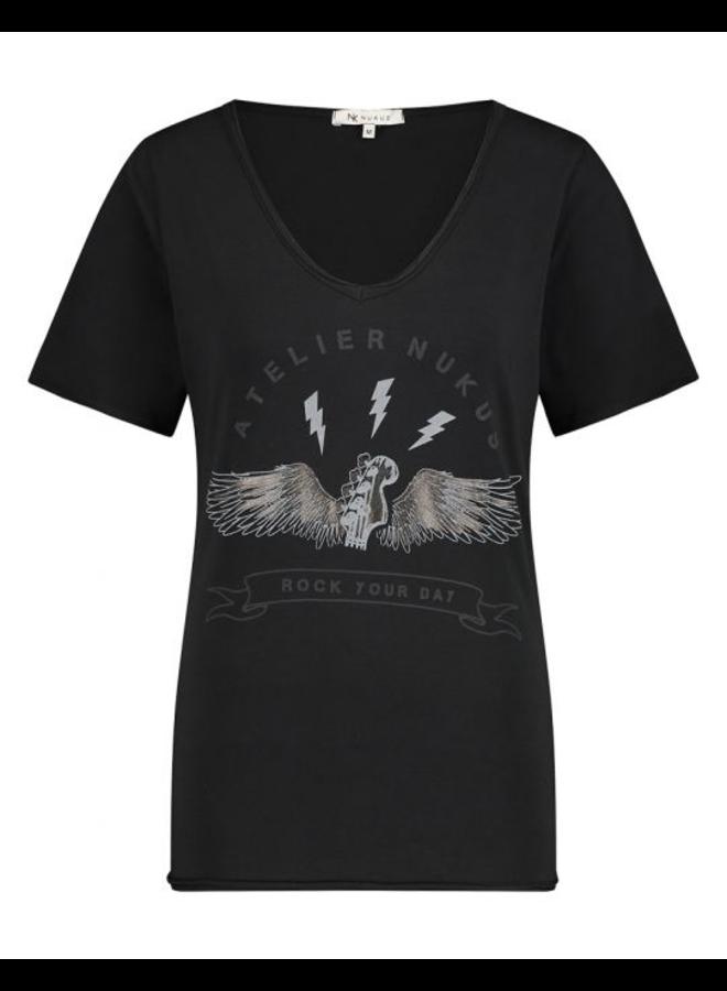 NUKUS Day T-Shirt - Black