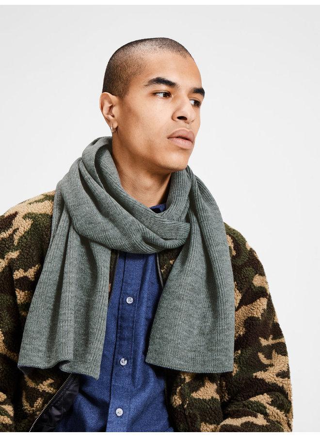 Sjaal 12098582 - Grey Melange