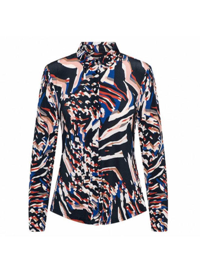&Co Woman Blouse  16AW-BL158-B - Blue (Multi)