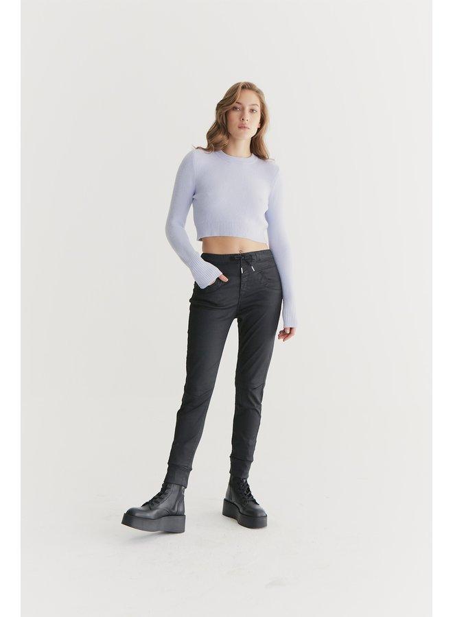Jog Jeans Mila - Black Coated