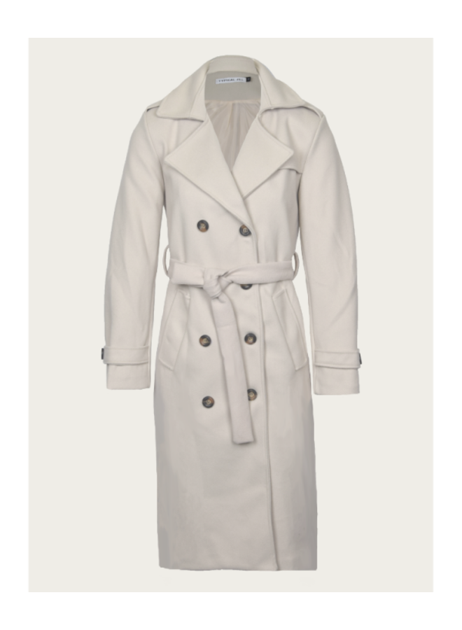 Typical Jill Jas 10157 Lexi Trenchcoat - Beige