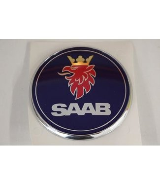 Embleem Saab motorkap 9-3ss/9-5. Origineel